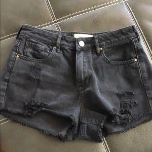 NWOT pac sun black shorts